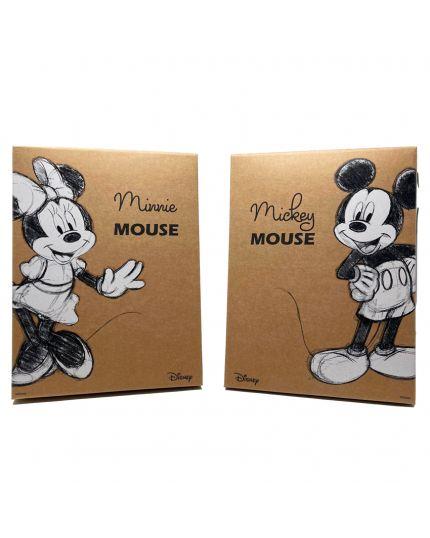 Scatola Disney Mickey Mouse e Minnie Dimensioni Assortite