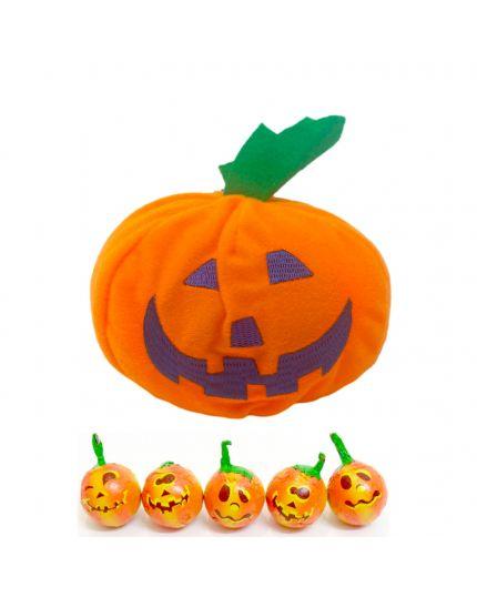 Kit Halloween Zucchetta Porta Cioccolatini Zucca Lindt