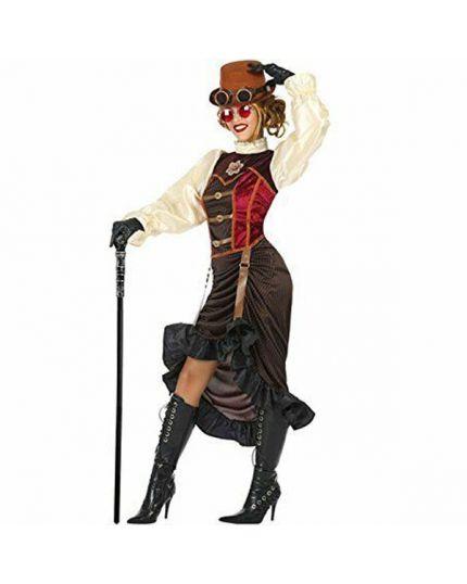 Costume Inventrice Steampunk Donna
