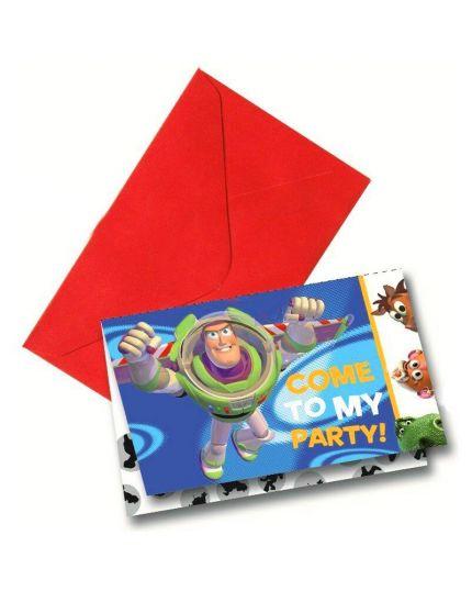 Biglietti Inviti Toy Story 3 con Buste