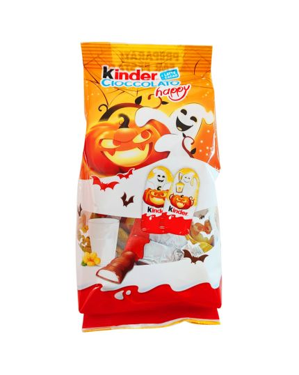 Cioccolatini Bustina Kinder Cioccolato Happy Halloween Edition 102gr