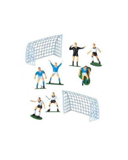 Kit Decorazioni Torta Calcio Plastica