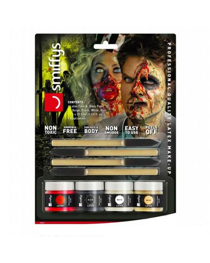Kit Lattice Liquido per Make Up Zombie Horror