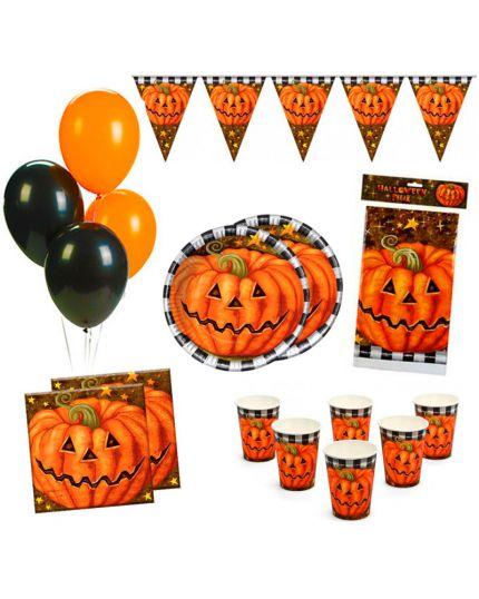 Kit Coordinato Tavola Halloween per 12 Persone