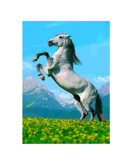 Puzzle Cavallo Selvaggio 500 Pezzi 47x33 Cm