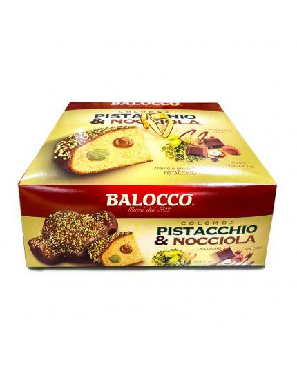 Colomba Pistacchio e Nocciola Balocco 750Gr