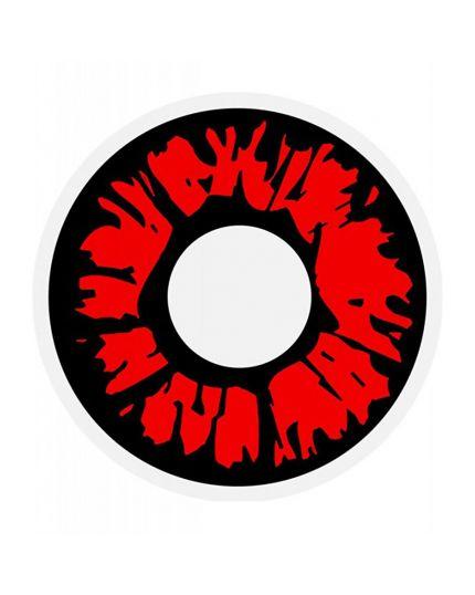 Lenti a Contatto Colorate Giornaliere Rosso Esplosivo