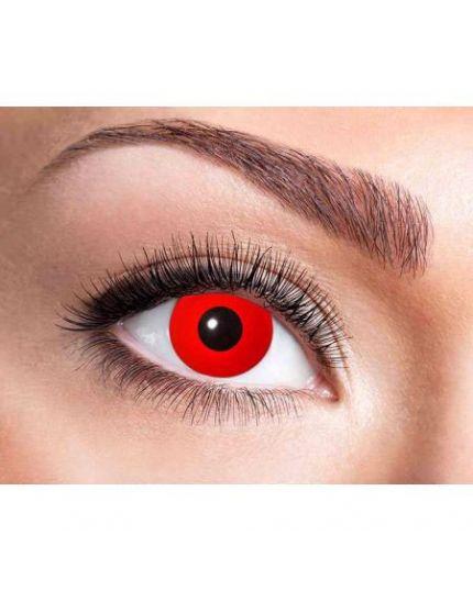 Lenti a Contatto Settimanali Rosse Red Devil