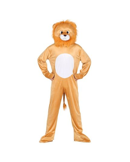 Costume Leone Peluche Adulto