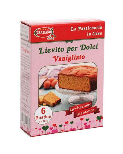 Lievito Istantaneo per Dolci Vanigliato in Bustine Graziano