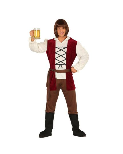 Costume Locandiere Medievale Uomo