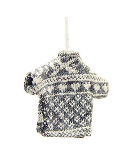 Decorazione Mini Maglione Natalizio 9cm