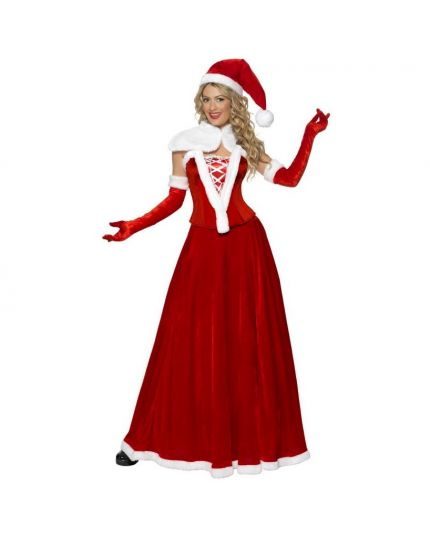 Costume Mamma Natale Deluxe Donna
