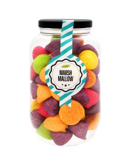 Barattolo Marshmallow Arcobaleno Woogie 780gr