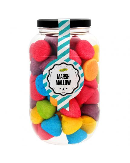 Barattolo Marshmallow Multicolor Woogie 780gr