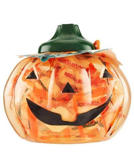 Marshmallow Forma Zucca di Halloween in Confezione Cestino Zucca 66gr
