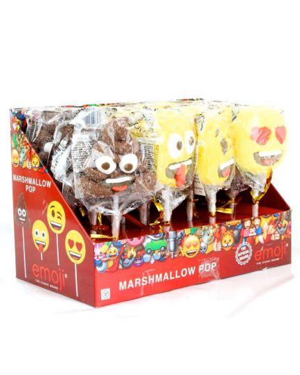 Spiedini Marshmallow Emoji 4 Pezzi