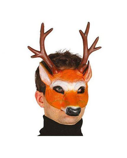Maschera Cervo Metà Viso