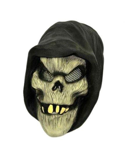 Maschera Lattice Demone Incappucciato