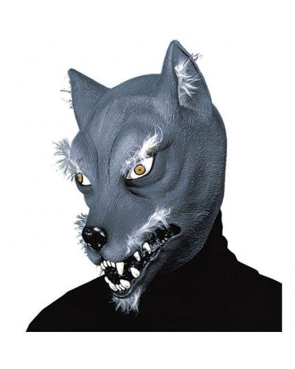 Maschera Lattice Lupo Grigio