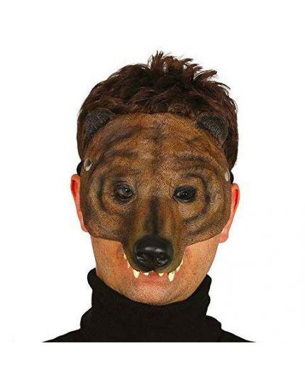 Maschera Orso Metà Viso