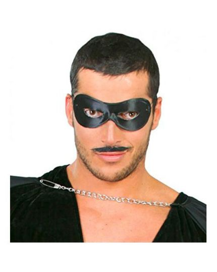 Maschera Pierrot Nera