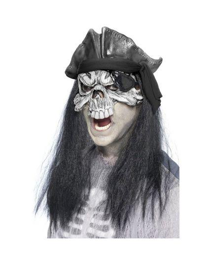 Maschera Scheletro Pirata