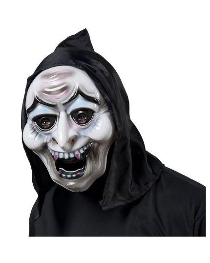 Maschera Strega con Cappuccio