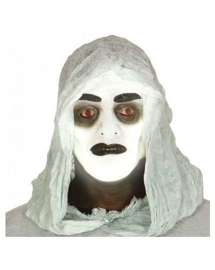 Maschera Trasparente Fluorescente Uomo