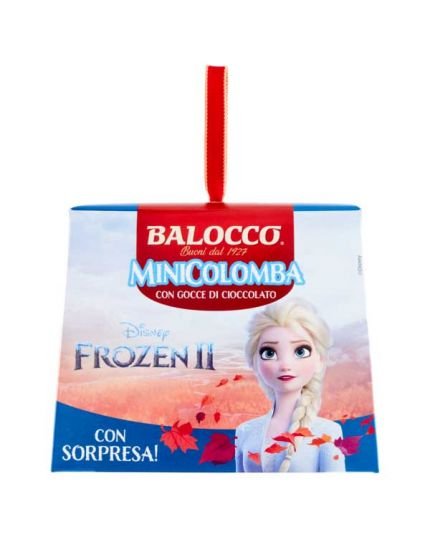 Mini Colombina Gocce Cioccolato Frozen II con Sorpresa Balocco 100gr