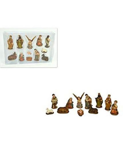 Mini Presepe Natività 11 Pezzi 3cm