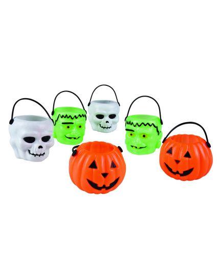 Mini Secchiellini Soggetti Halloween