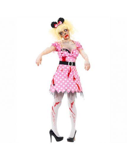 Costume Topolina Minnie Zombie