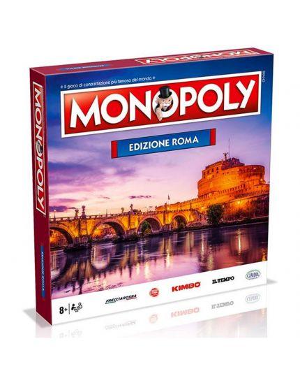 Gioco Tavola Monopoly Edizione Città Roma