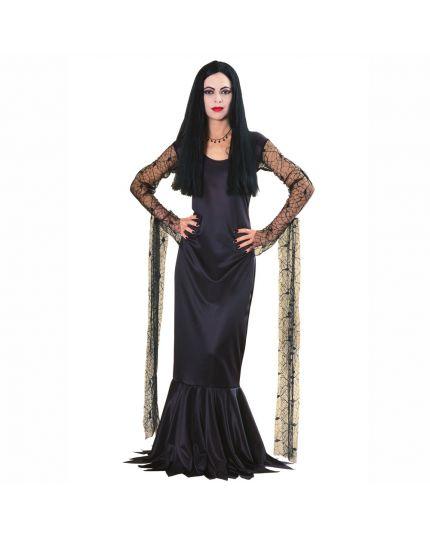 Costume Morticia Addams Donna