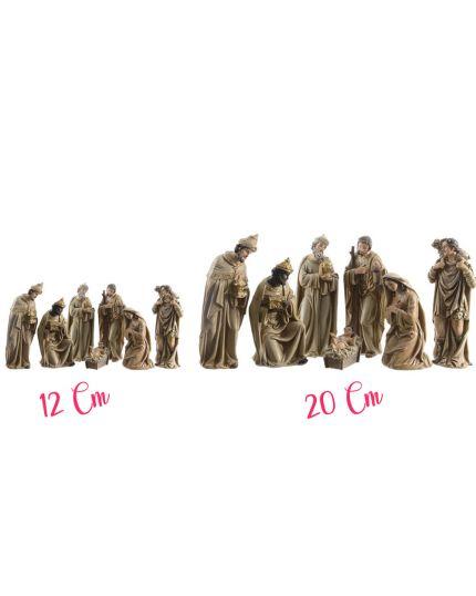 Presepe Set Natività Oro 7 Pezzi Varie Dimensioni