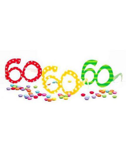 Occhiali Carta 60 Anni