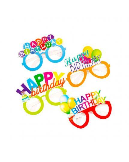Occhiali Carta Happy Birthday