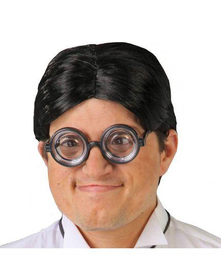 Occhiali Rotondi Neri Lenti Spesse
