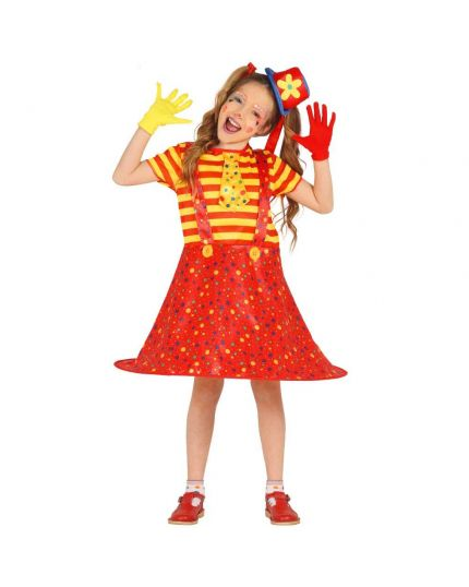 Costume Pagliaccio Bambina