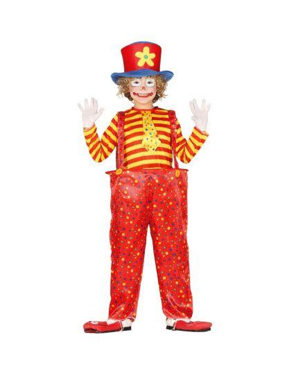 Costume Pagliaccio Clown Bambino