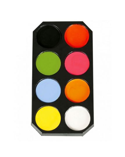 Palette Make-Up Base Acqua Otto Colori
