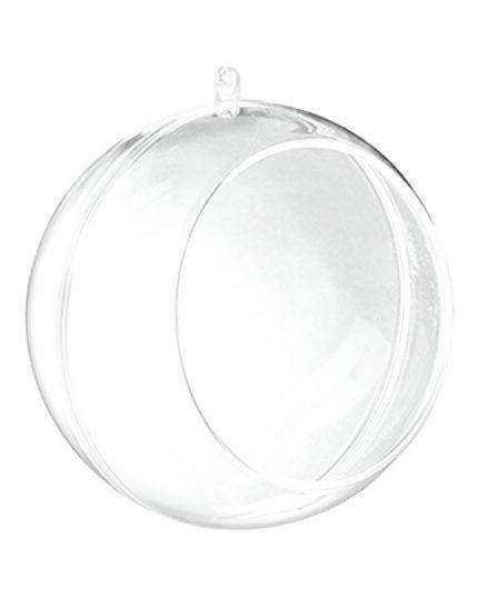 Sfera Apribile Pvc Trasparente con Foro 10cm