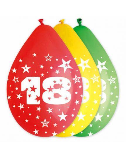 Palloncini Lattice Multicolor 18 Anni