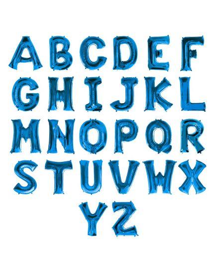 Palloncino Lettera 81cm Blu