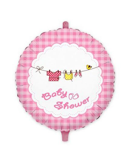 Palloncino Foil Rotondo Baby Shower Girl