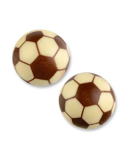 Decorazione Pallone da Calcio 3D in Cioccolato 2,7cm