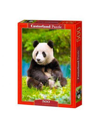 Puzzle Panda 500 Pezzi 47x33 Cm