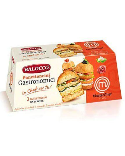 Panettoncini Gastronomici Balocco 3 Pezzi da 80gr