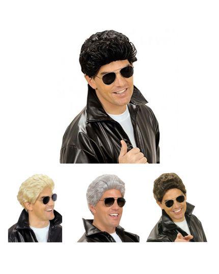 Parrucca Uomo Grease Colorata